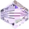 Swarovski Bead 5328 Bicone 4mm Aurora Borealis Smoky Mauve